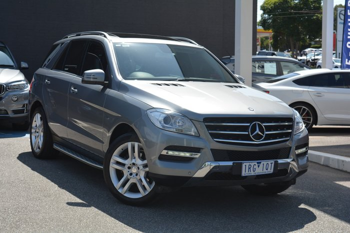 2012 Mercedes-Benz M-Class ML250 BlueTEC W166 4X4 Constant Grey