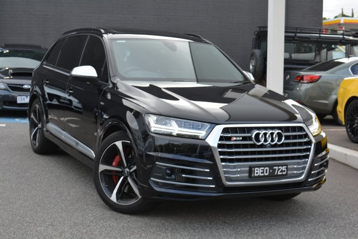 2017 Audi SQ7 TDI 4M MY17 Four Wheel Drive Black