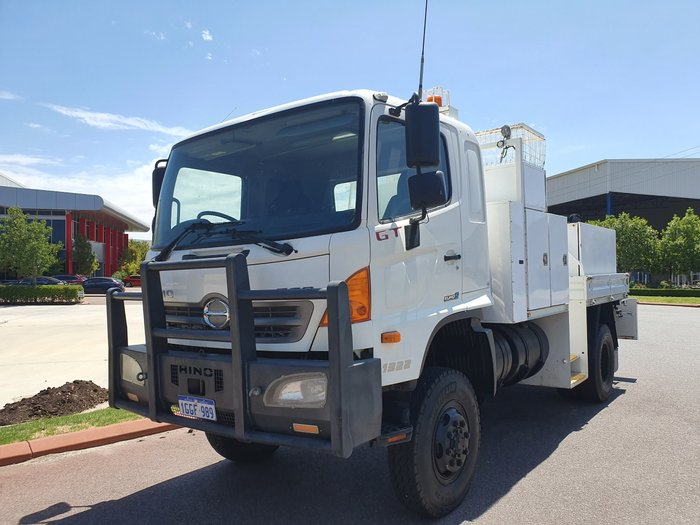 2012 Hino GT 1322-500 Series SERVICE BODY