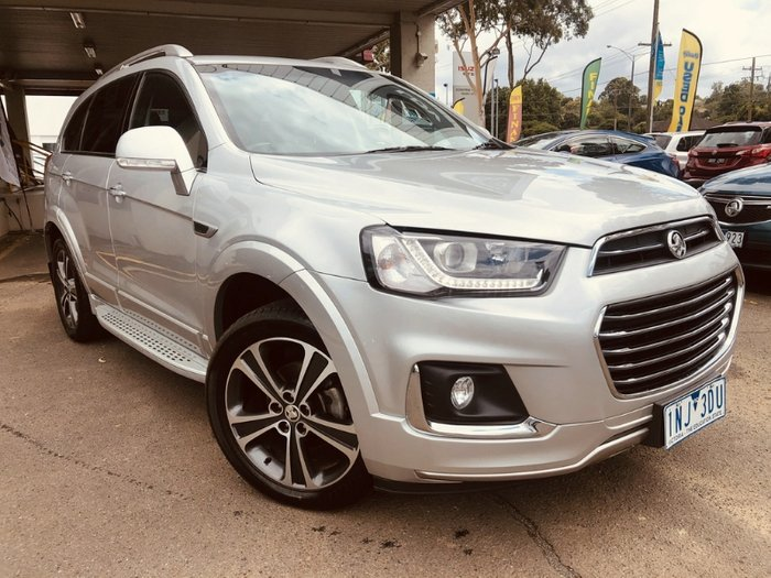 2017 Holden Captiva LTZ CG MY18 4X4 On Demand NITRATE