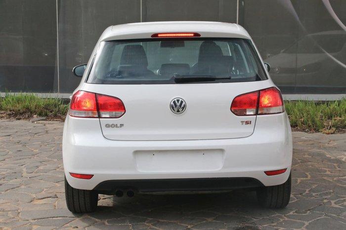 2010 Volkswagen Golf 118TSI Comfortline VI MY11 White