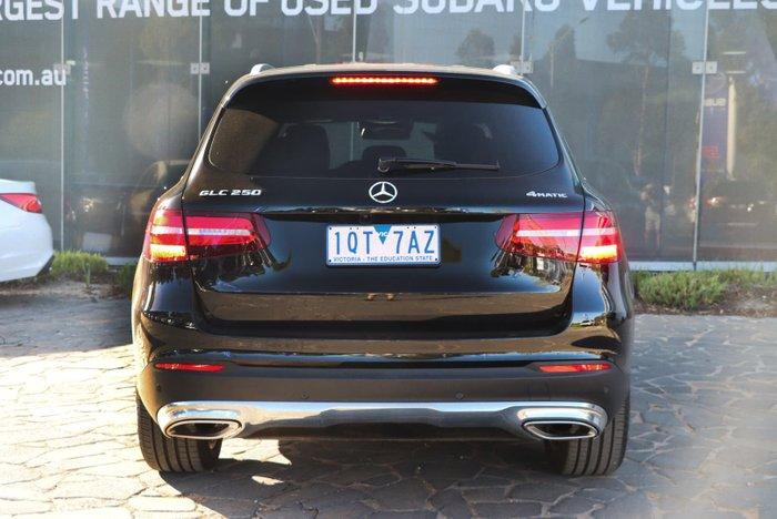 2017 Mercedes-Benz GLC-Class GLC250 X253 Four Wheel Drive Black