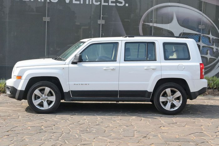 2015 Jeep Patriot Sport MK MY15 White