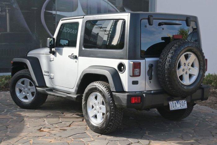 2011 Jeep Wrangler Sport JK MY10 4X4 Silver