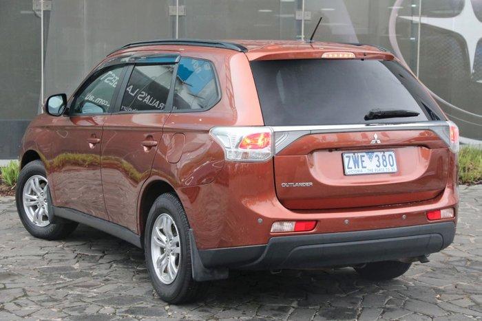 2013 Mitsubishi Outlander LS ZJ MY13 Orange