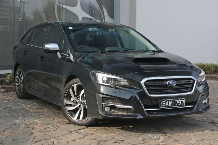 2019 Subaru Levorg 2.0 GT-S V1 MY20 Four Wheel Drive Black