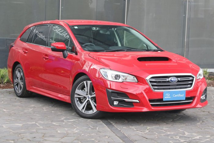 2018 Subaru Levorg 1.6 GT V1 MY19 Four Wheel Drive Red