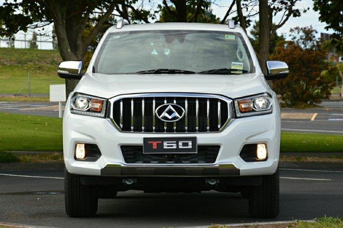 2019 LDV T60 LUXE SK8C 4X4 Dual Range WHITE