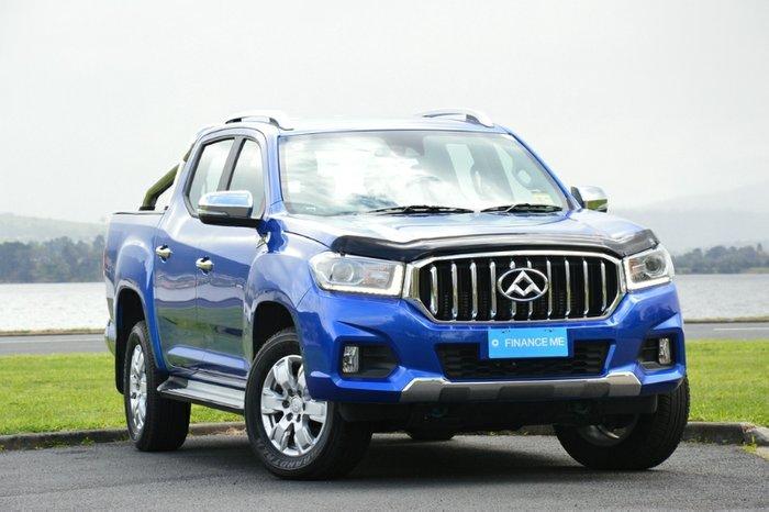 2019 LDV T60 LUXE SK8C 4X4 Dual Range JEWEL BLUE