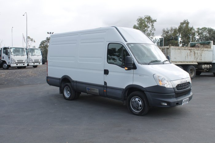 2012 Iveco Daily 50C 17/18 Refrigerated Van White