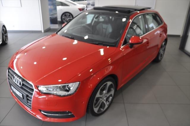 2014 Audi A3 Ambition 8V MY15 Red