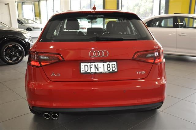 2014 Audi A3 Ambition 8V MY15 Red