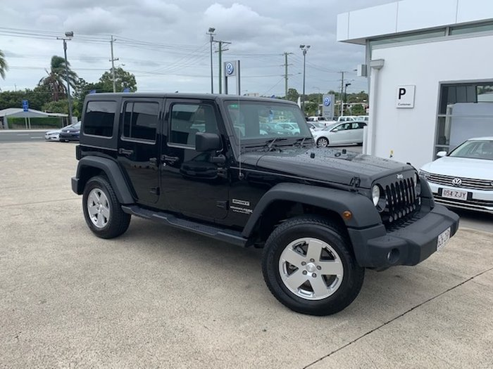 2018 Jeep Wrangler Unlimited Sport JK MY18 4X4 Dual Range Black