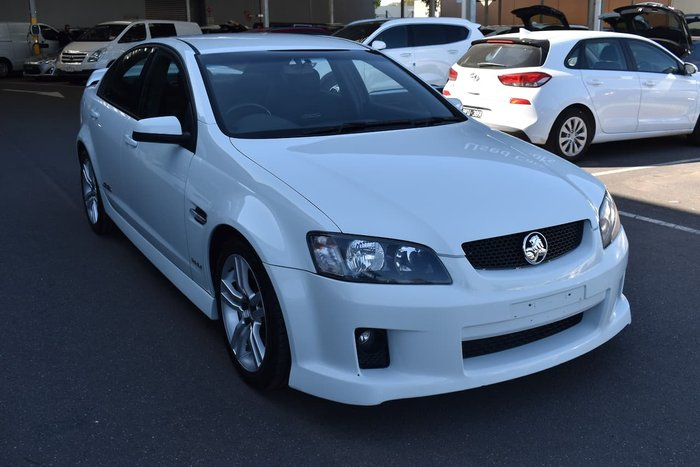 2010 Holden Commodore SS VE MY10 White