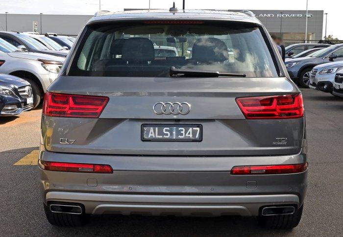 2016 Audi Q7 TDI 4M MY16 Four Wheel Drive Grey