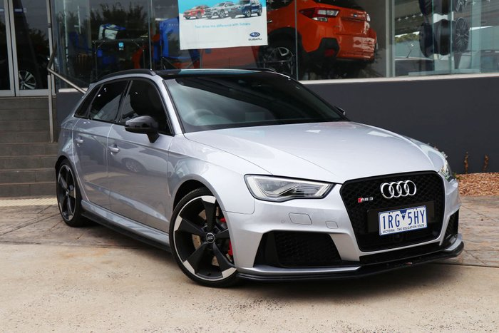 2016 Audi RS3 8V MY16 Four Wheel Drive Silver