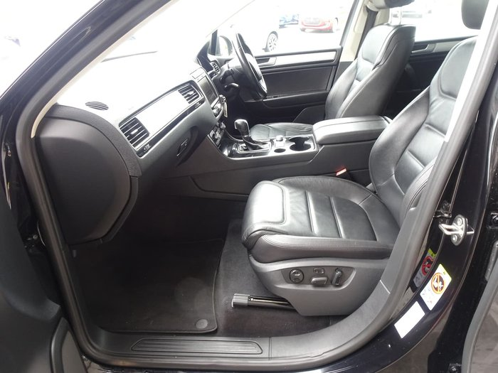 2015 Volkswagen Touareg V6 TDI 7P MY15 Four Wheel Drive Black