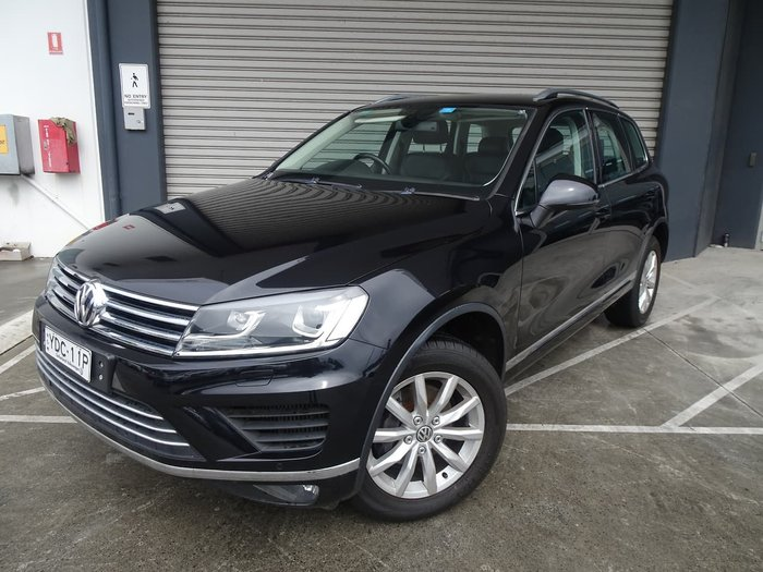 2015 Volkswagen Touareg V6 TDI 7P MY15 Four Wheel Drive Black