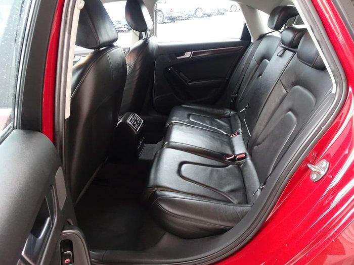 2010 Audi A4 B8 MY10 Red