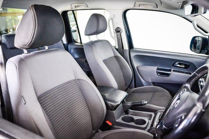 2014 Volkswagen Amarok TDI420 Highline 2H MY15 4X4 Constant Black
