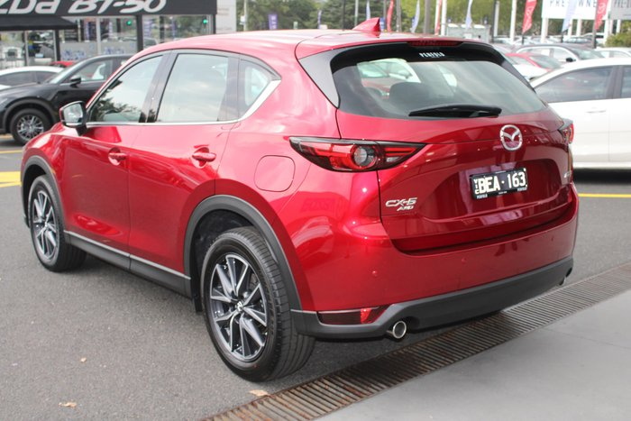 2019 Mazda CX-5 GT KF Series 4X4 On Demand Red