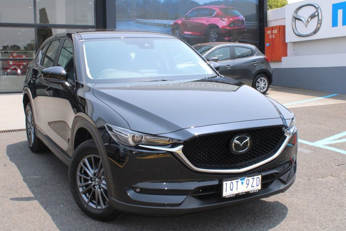 2019 Mazda CX-5 Maxx Sport KF Series 4X4 On Demand Black