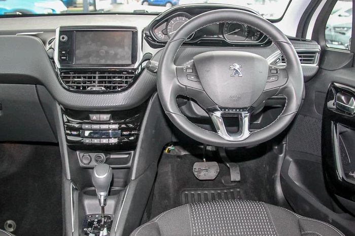 2018 Peugeot 208 Allure A9 MY18 White