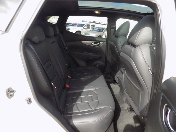 2019 Nissan QASHQAI Ti J11 Series 2 White