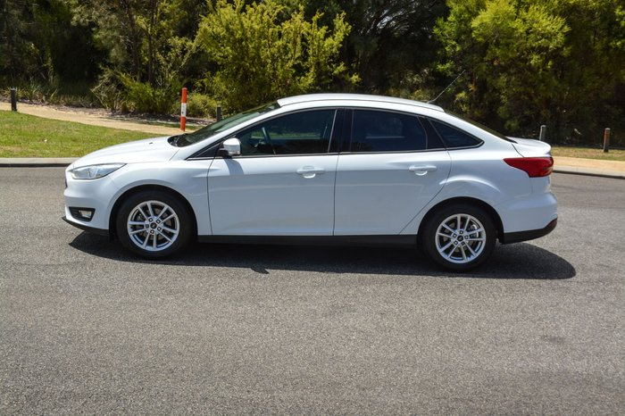 2015 Ford Focus Trend LZ White
