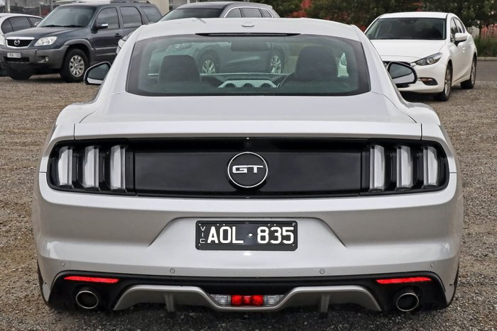 2017 Ford Mustang GT FM MY17 Silver