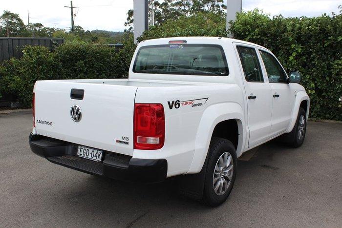 2019 Volkswagen Amarok TDI500 Core 2H MY20 4X4 Dual Range White