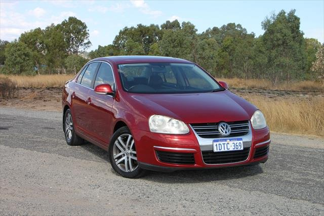 2007 Volkswagen Jetta TDI 1KM MY07 Burgundy
