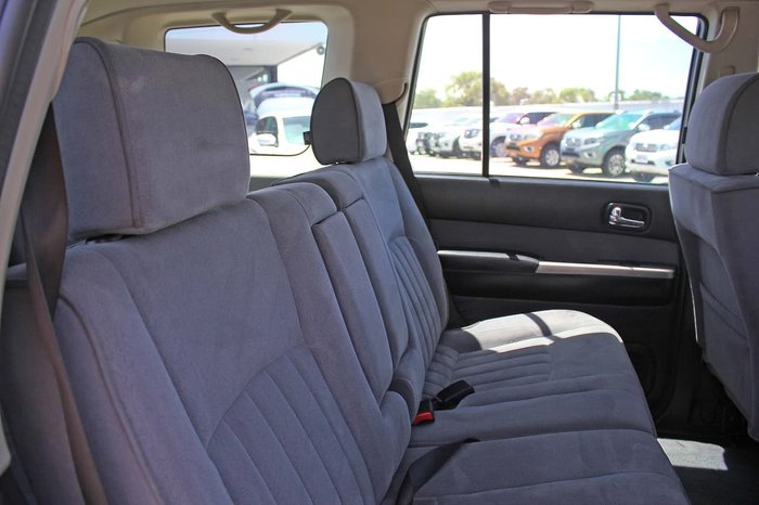 2012 Nissan Patrol ST GU 8 4X4 Dual Range Black