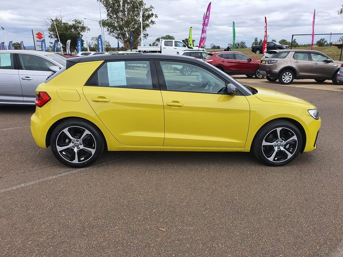 2019 Audi A1 30 TFSI GB MY20 Yellow