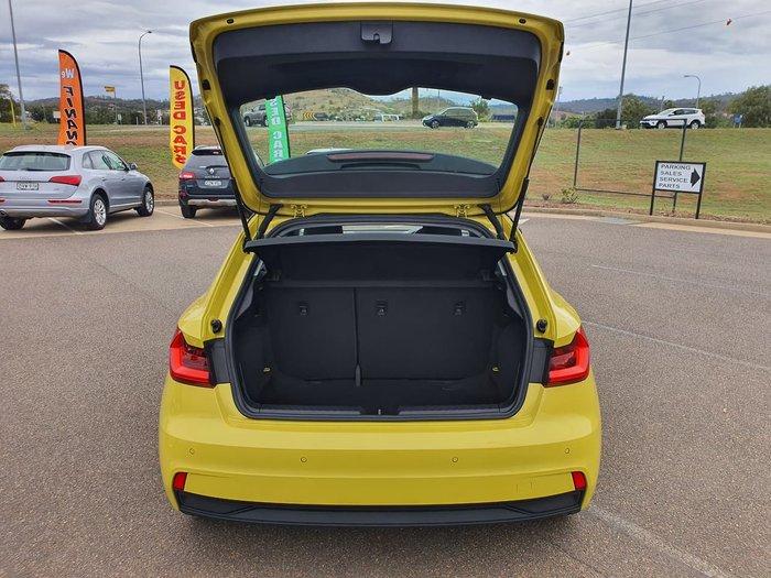 2019 Audi A1 30 TFSI GB MY20 Yellow