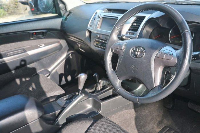 2015 Toyota Hilux SR5 KUN26R MY14 4X4 Dual Range Silver