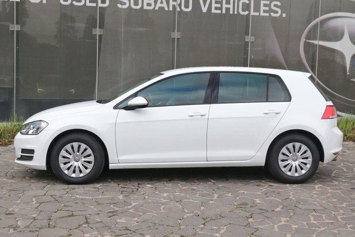 2014 Volkswagen Golf 90TSI 7 MY15 White