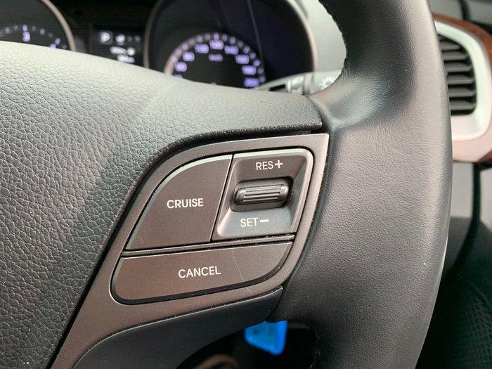 2017 Hyundai Santa Fe Active DM4 Series II MY18 4X4 On Demand Grey