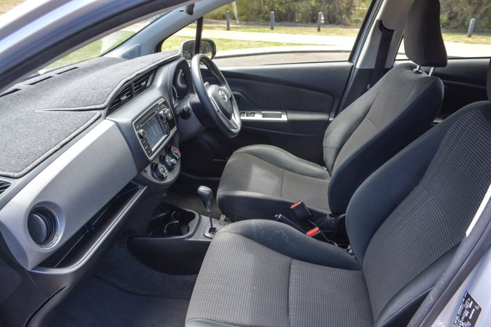 2015 Toyota Yaris Ascent NCP130R Silver