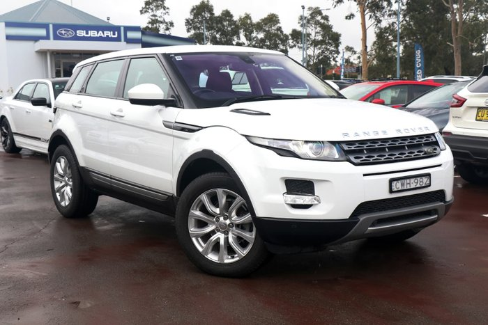 2014 Land Rover Range Rover Evoque SD4 Pure L538 MY15 4X4 Constant White
