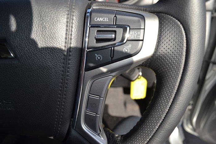 2018 Mitsubishi Triton GLS MR MY19 4X4 Dual Range Silver