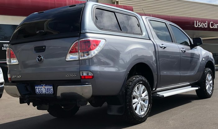 2012 Mazda BT-50 XTR UP 4X4 Dual Range Grey
