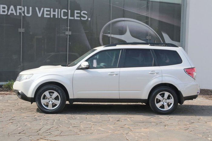 2011 Subaru Forester 2.0D S3 MY12 Four Wheel Drive White