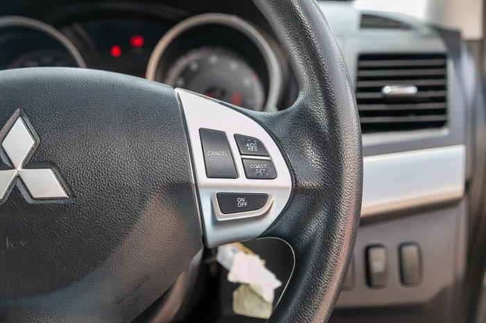 2009 Mitsubishi Lancer ES CJ MY09 Grey