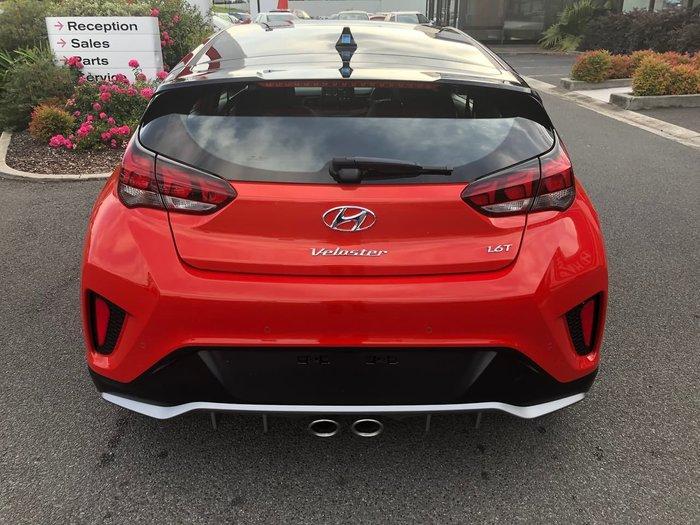 2020 Hyundai Veloster Turbo Premium JS MY20 Orange