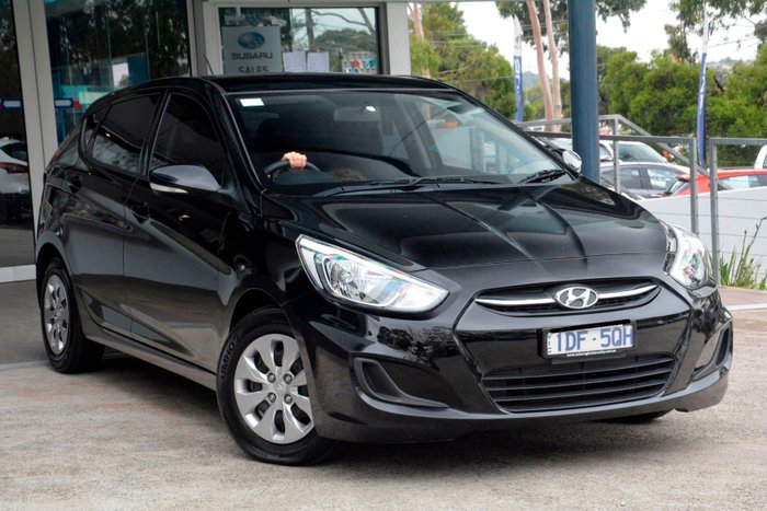 2015 Hyundai Accent Active RB3 MY16 Black