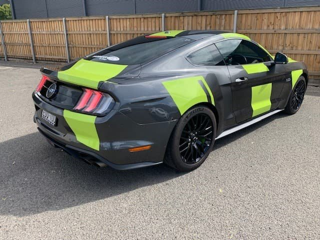 2018 Ford Mustang GT FN MY19 Grey