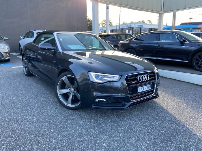 2016 Audi A5 8T MY16 Four Wheel Drive Grey