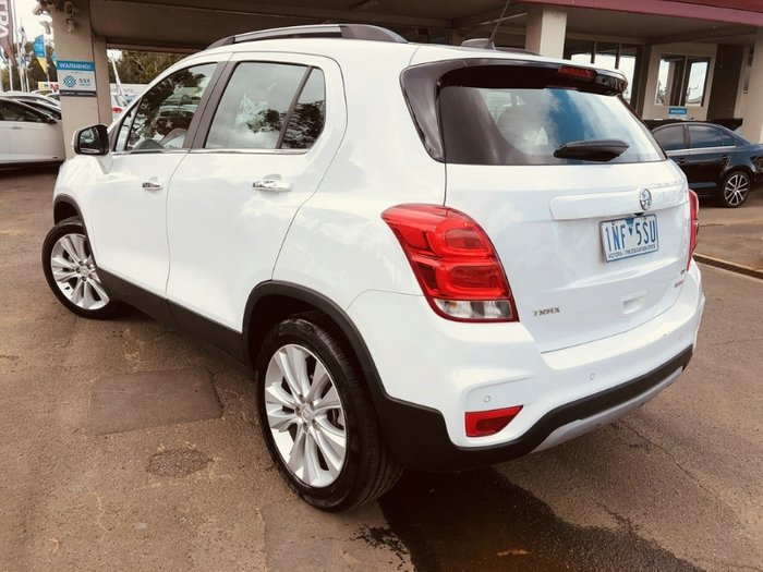 2017 Holden Trax LTZ TJ MY18 SUMMIT WHITE