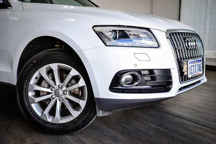 2015 Audi Q5 TFSI 8R MY16 Four Wheel Drive White